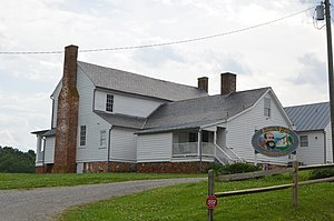 Jubal Early - Early's childhood home in northeastern Franklin County.