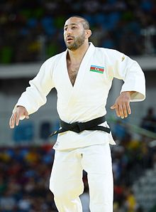 Judo at the 2016 Summer Olympics, Shikhalizade vs Uriarte 12.jpg