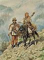 Juliusz Kossak. Hutsul travelling 1892.jpg