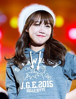 Jung Eun-ji at Girls Awards Girls Collection in Osaka, 1 November 2015.jpg