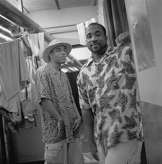 Jungle Brothers American hip hop trio