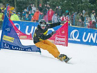 Justin Reiter snowboarder