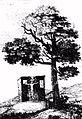 Königskreuz Zeichnung 1835.jpg