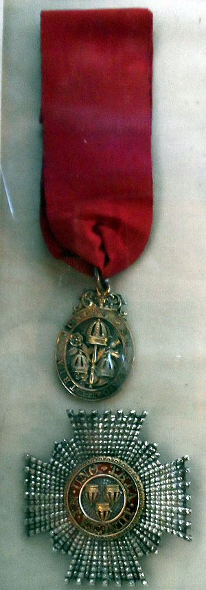 2014 New Year Honours - Badge of a Knight Commander of the Civil Division of the Order of the Bath