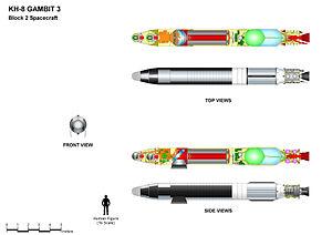 KH-8 Gambit 3 - KH-8 GAMBIT 3 (Block 2) main features