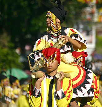 Religion in the Philippines - Procession in Malaybalay for the indigenous Kaamulan Festival
