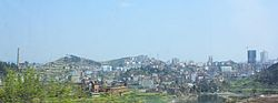 The skyline of Kaili