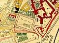 Kaiserliches Zeughaus Oberes Arsenal Map Vienna Steinhausen 1710.jpg