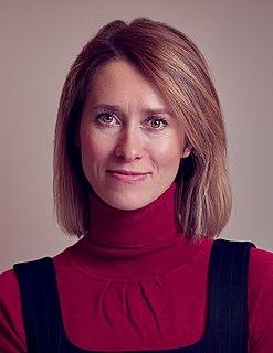 Kaja Kallas Estonian politician