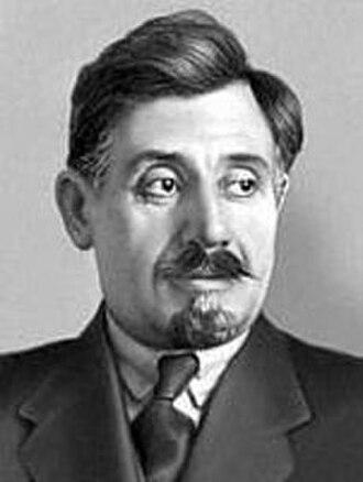 "Kamo (Bolshevik) - Simon ""Kamo"" Ter-Petrosian in 1922"