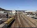 Karatsu Rail Yard from Rifurebashi Bridge.jpg