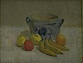 Karl Isakson - Still Life with Grey Jar, Apples and Bananas - KMS4235 - Statens Museum for Kunst.jpg
