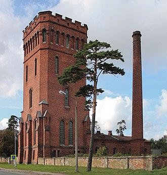 Karosta - Image: Karosta water tower