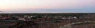 Karratha, Western Australia - Karratha at dusk