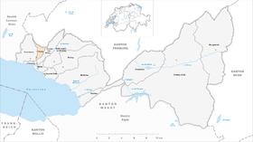Map of Jongny