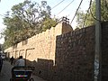 Kashmere Gate - Old City wall at Nicholson Road 01.jpg