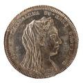 Kastpenning från Sofia Magdalenas begravning 1813 - Skoklosters slott - 99581.tif