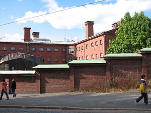 Katajanokka - The Katajanokka prison (now a Best Western hotel).