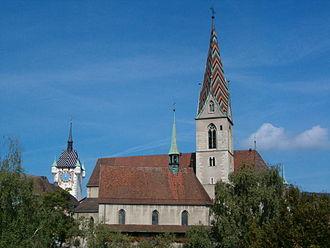 Canton of Aargau - Catholic City Church in Baden, Aargau