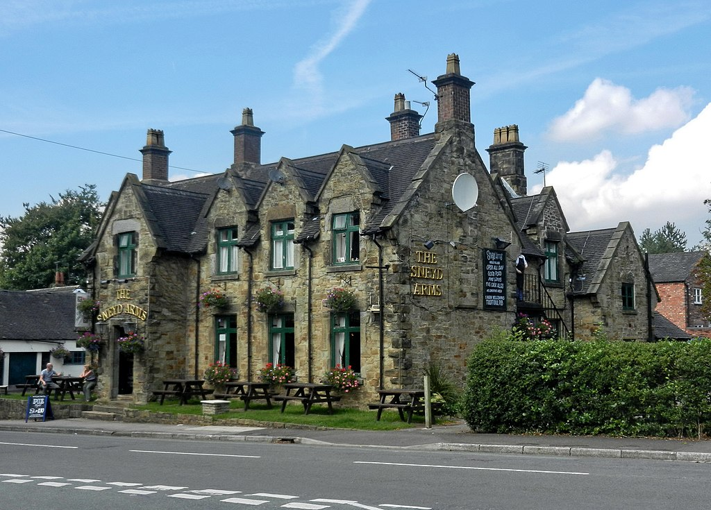Creative Commons image of The Sneyd Arms in Newcastle under Lyme