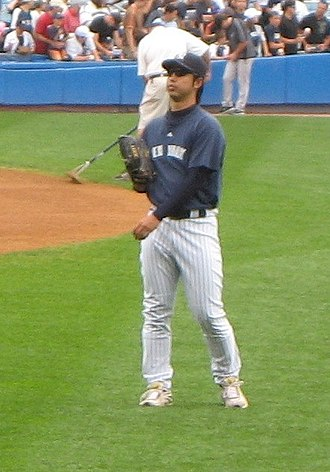Kei Igawa - Igawa before a game at Yankee Stadium in 2007.
