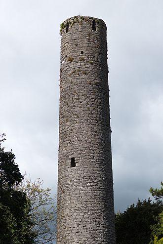 Kells Round Tower - Round tower at Kells