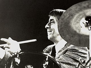 Kenny Clare British jazz drummer