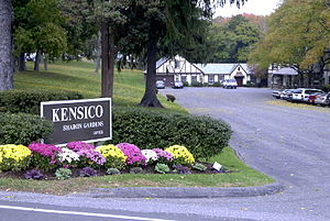 Kensico Cemetery - Main entrance