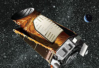 Kepler spacecraft artist render (crop)