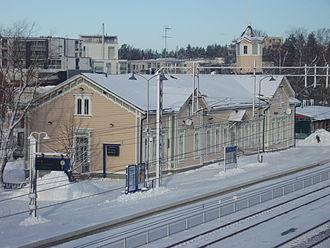 Kerava railway station - Image: Kerava railway station 903