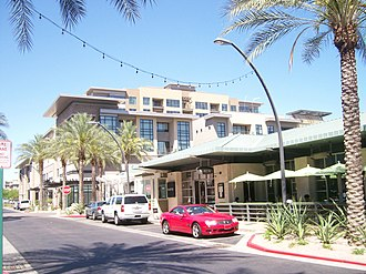 Kierland Commons - Image: Kierland North 2008 04 14
