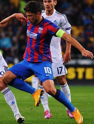 Cristian Tănase - Tănase playing for Steaua București in 2014