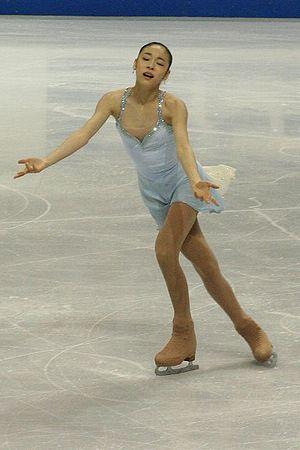 Yuna Kim -  Kim performing her free skate to The Lark Ascending at the 2006 Skate Canada.