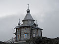 King George Island Kirche der Bellingshausen Station.jpg