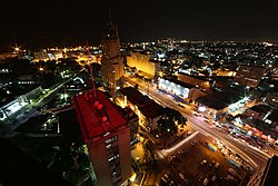Skyline of Kinshasa