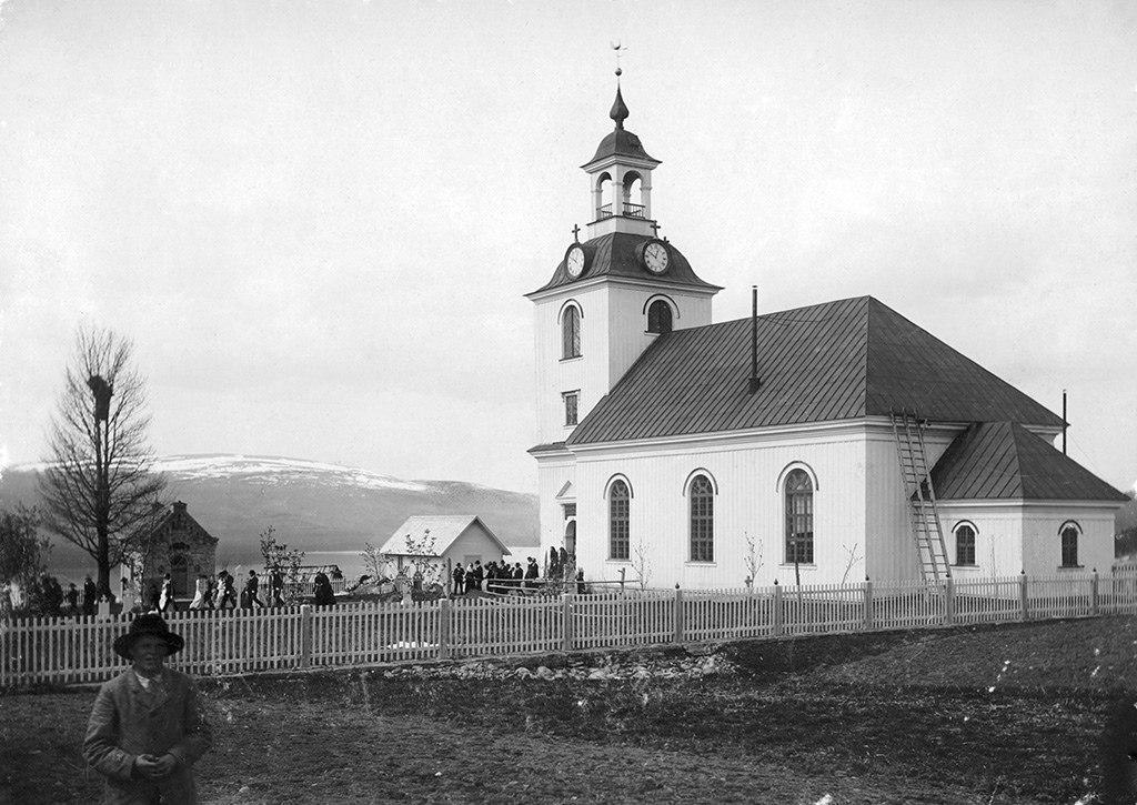 Klövsjö Church, Jämtland, Sweden (15897347096)