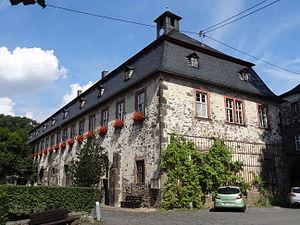 Arnsburg Abbey - Bursenbau