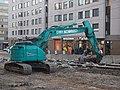 Kobelco excavator in Kallio.jpg