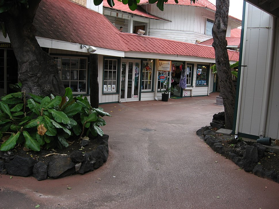 Kona Inn Shopping Village, Sunset, Kailua-Kona, Hawaii (4548894603)