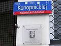 Konopnickiej Street in Warsaw - 01.jpg