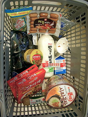 Korea-grocery shopping