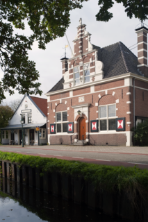 Kortenhoef Town in North Holland, Netherlands