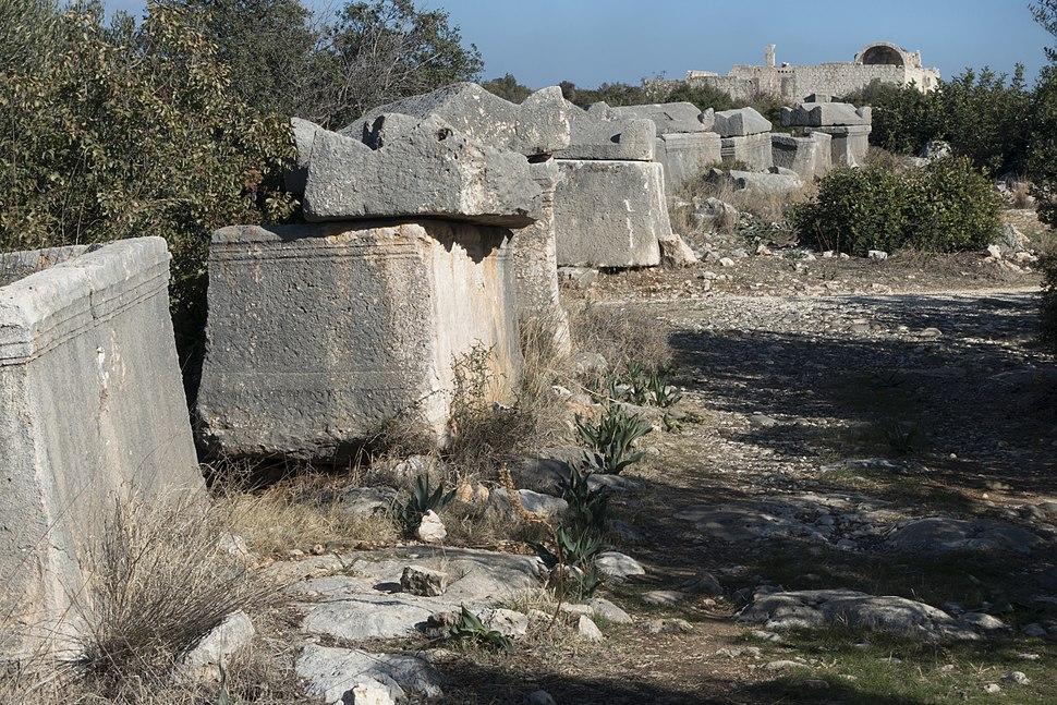 Korykon Necropoli and churches 3270