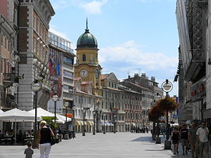 Rijeka - Image: Korzó1 Rijeka