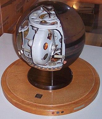 Gyrocompass - Cutaway of an Anschütz gyrocompass