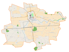 Mapa lokalizacyjna gminy Krośniewice