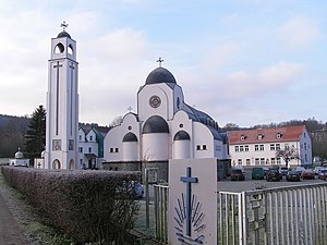 Coptic Orthodox Church in Europe - The Coptic Orthodox Monastery of St. Antonious in Waldsolms-Kröffelbach, Germany.