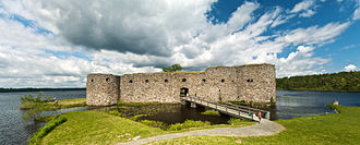 Växjö - Ruins of Kronoberg Castle, Växjö