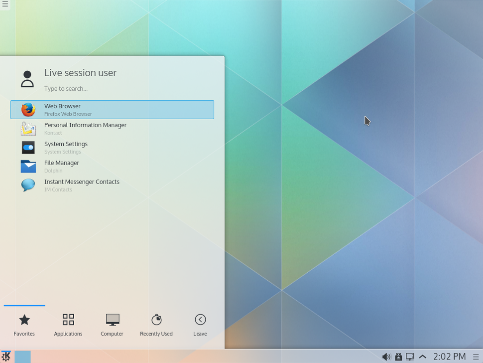 Kubuntu 15.04.alpha1 with plasma5