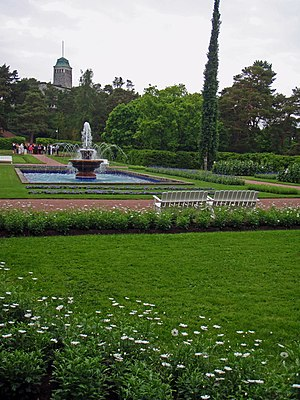 Kultaranta - Image: Kultarannan puutarha